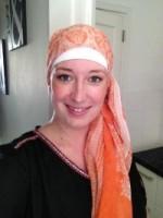 Ik met een hoofddoekje