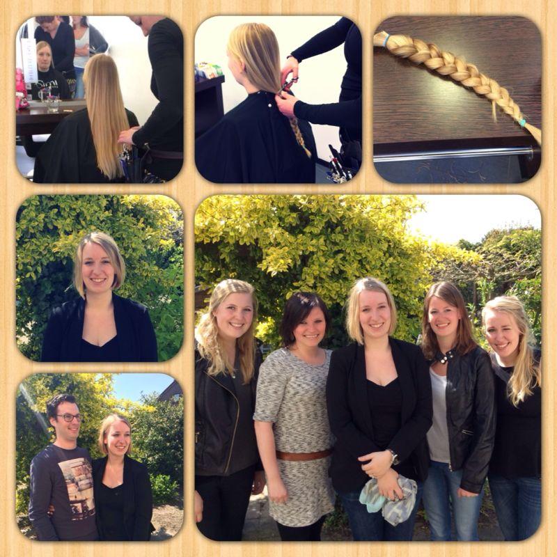 M'n haren doneren samen met vriendinnen!