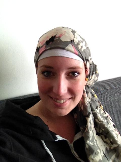 Nog een foto van één van mijn hoofddoekjes!