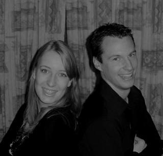 Onze eerste kerst samen; 5,5 jaar geleden! Wat een broekies!