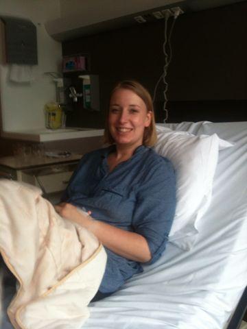 Ook hier heb ik koorts tijdens de chemo.